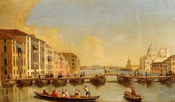 View Of The Grand Canal And Santa Maria Della Salute Venice